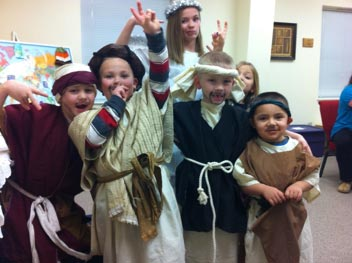 Children Christmas Play
